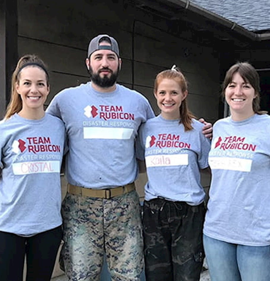 Service above self: West Monroe's volunteer mission with Team Rubicon