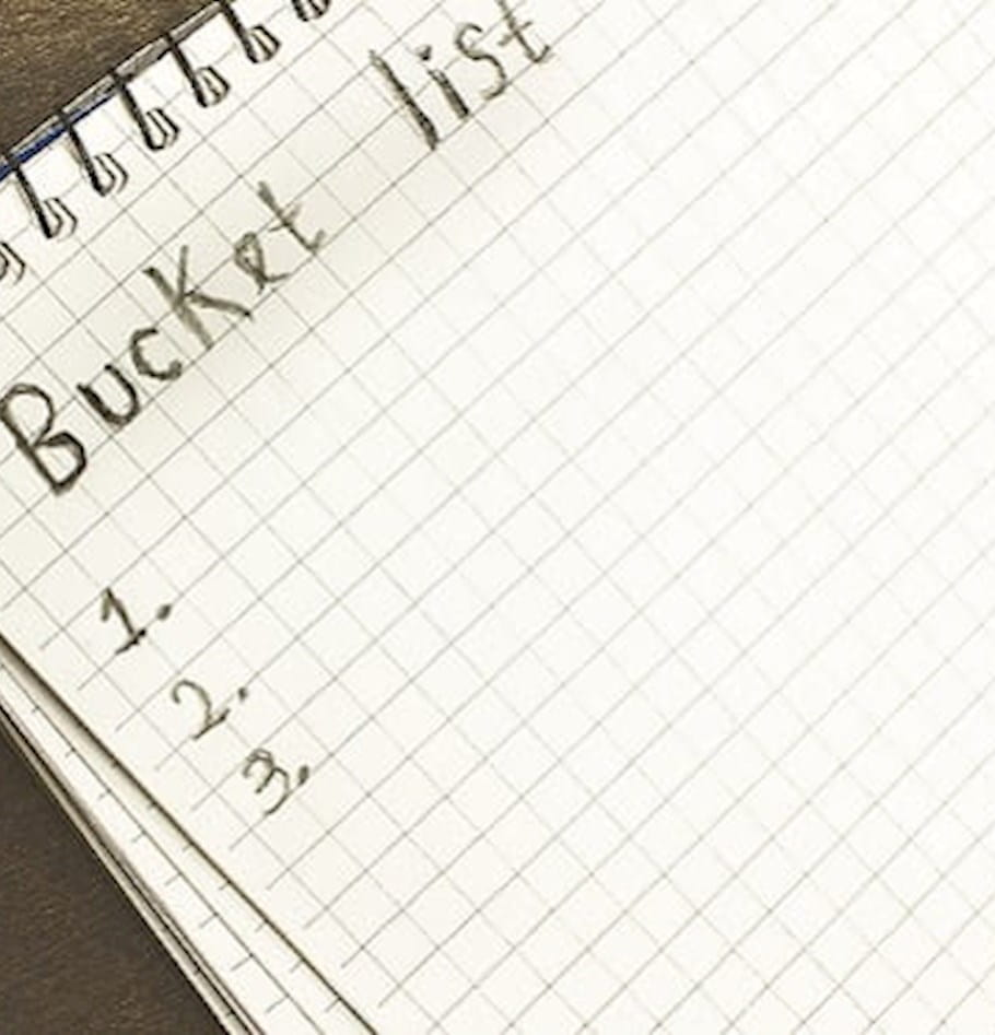 Why you need a business bucket list