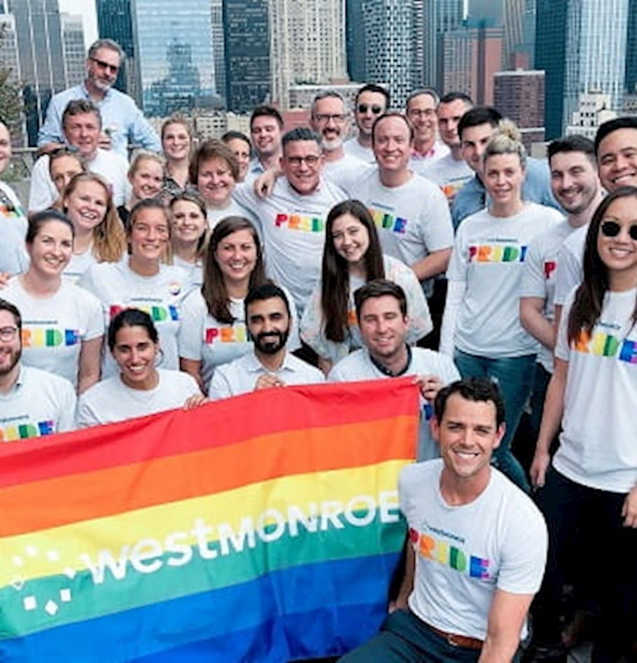 How West Monroe supports LGBTQ Employees so they can bring their full selves to work