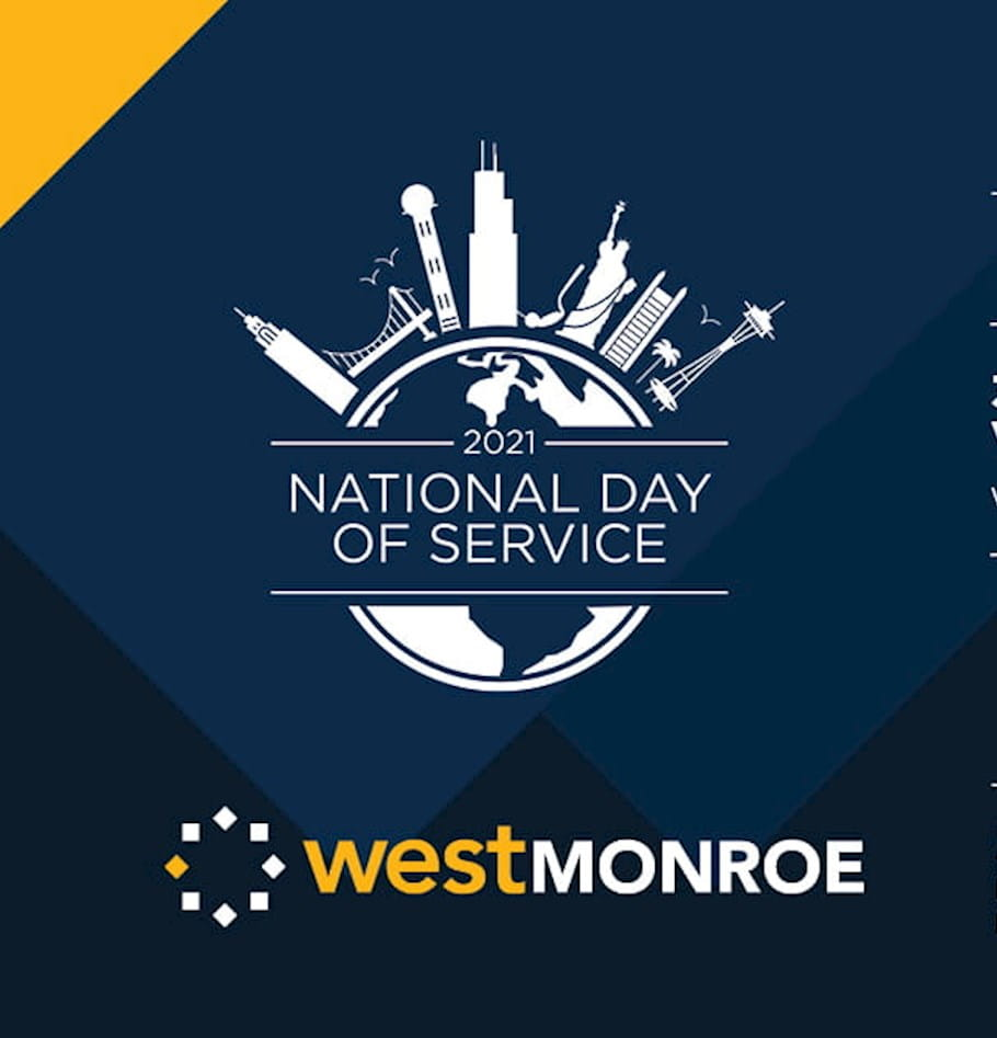 West Monroe Takes Its National Day of Service Virtual For the Second Year in Row