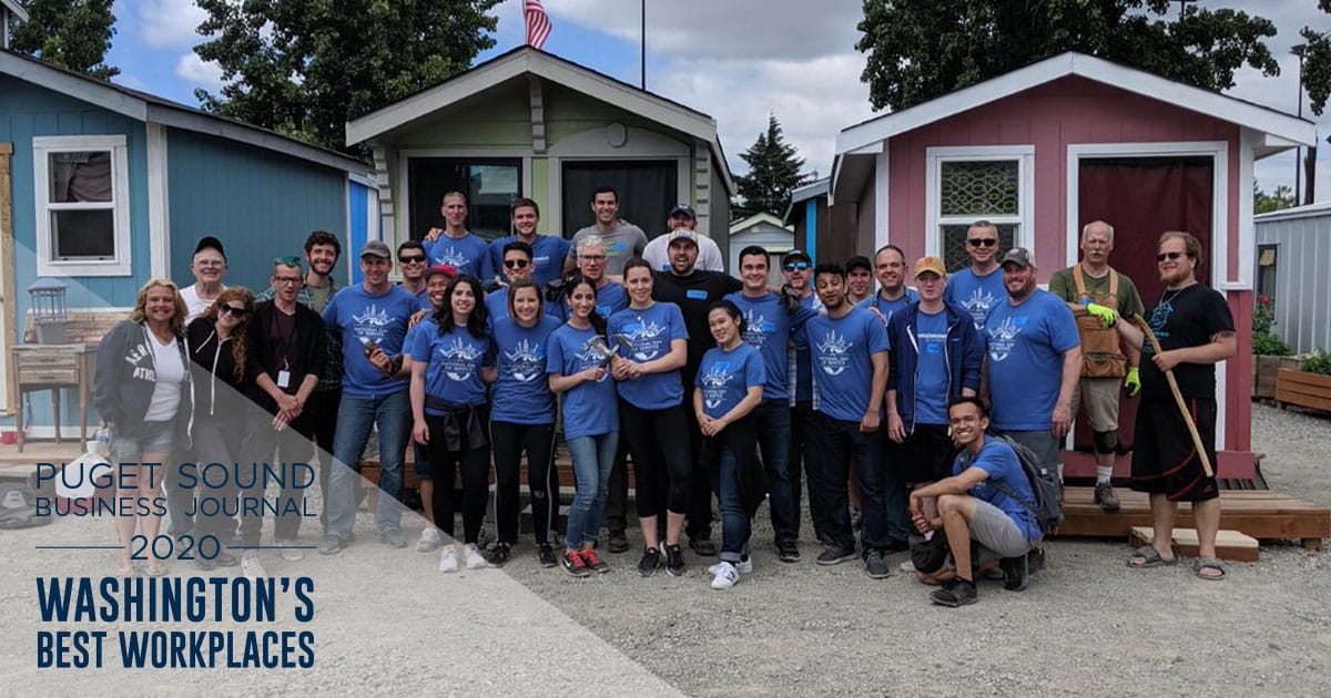 west monroe has been recognized as one of washington's best workplaces by puget sound business journal for the seventh year in a row