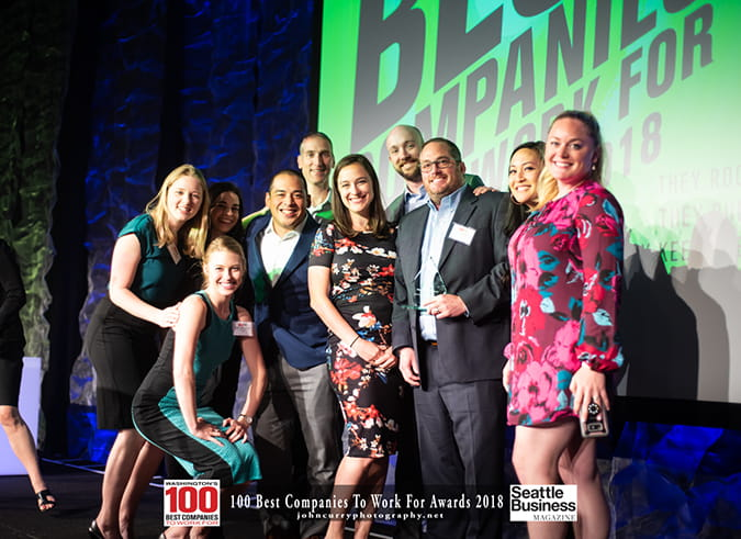 Washington's 100 Best Companies to Work For 2018