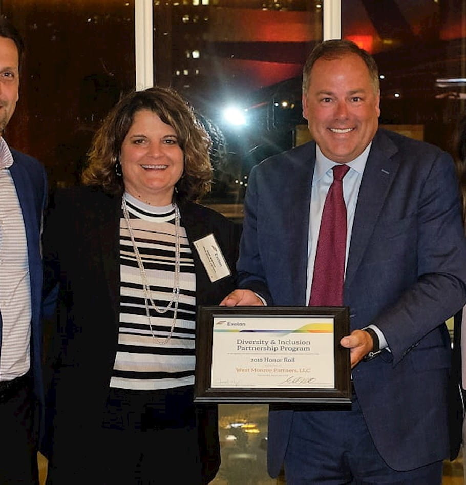 West Monroe named to Exelon's 2019 Diversity & Inclusion Honor Roll