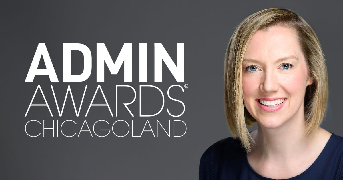 West Monroe's Lauren Morrissey Receives 2021 Chicagoland Admin Award