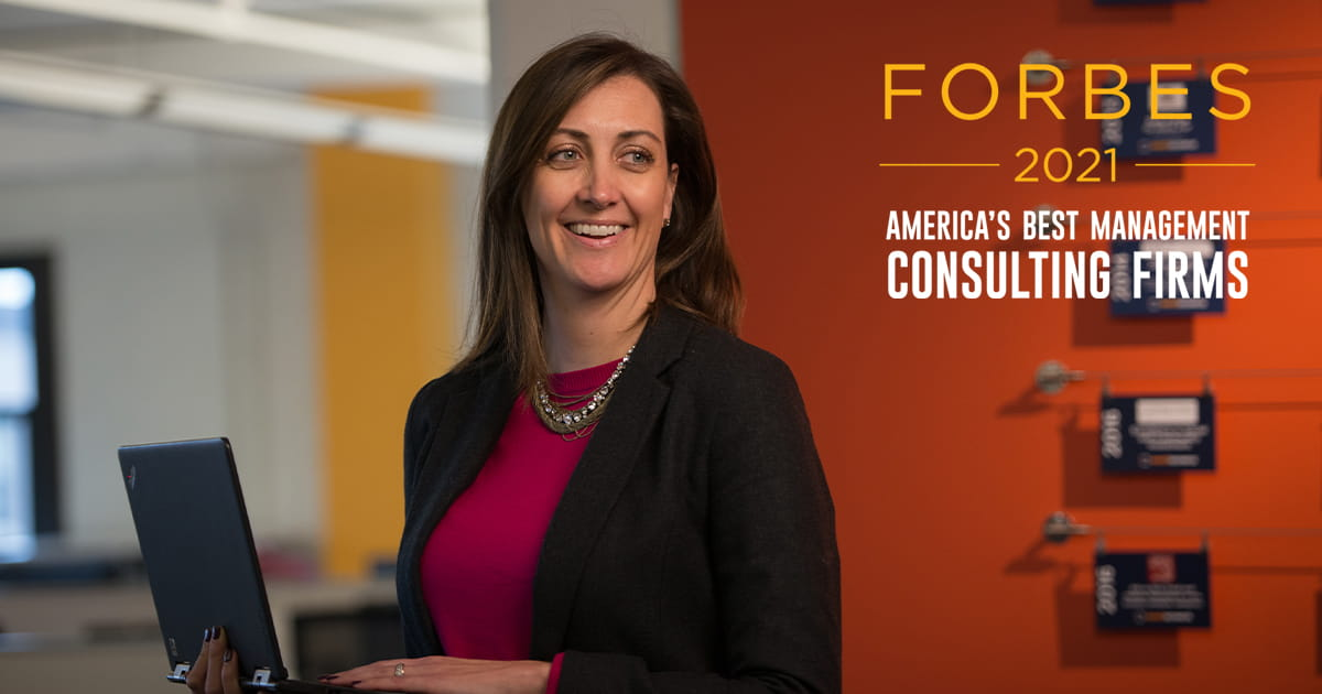Forbes again names West Monroe to 2021 list of America's Best Management Consulting Firms