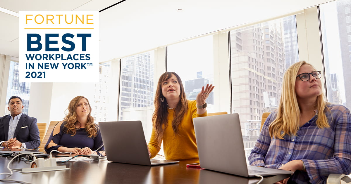 West Monroe named one of the 2021 Best Workplaces for Millennials by Fortune and Great Place to Work®