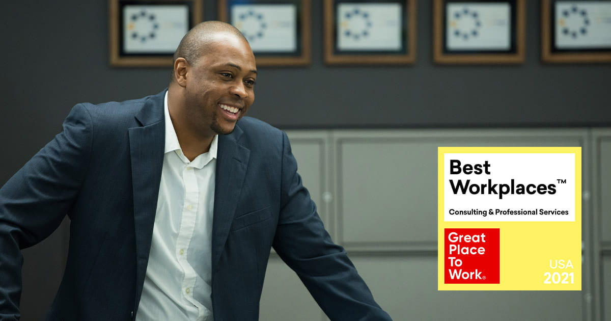 2021 Best Workplaces in Consulting & Professional Services by Great Place to Work®