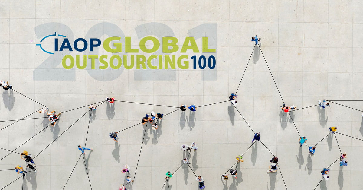 IAOP's 2021 World's Best Outsourcing Advisors list