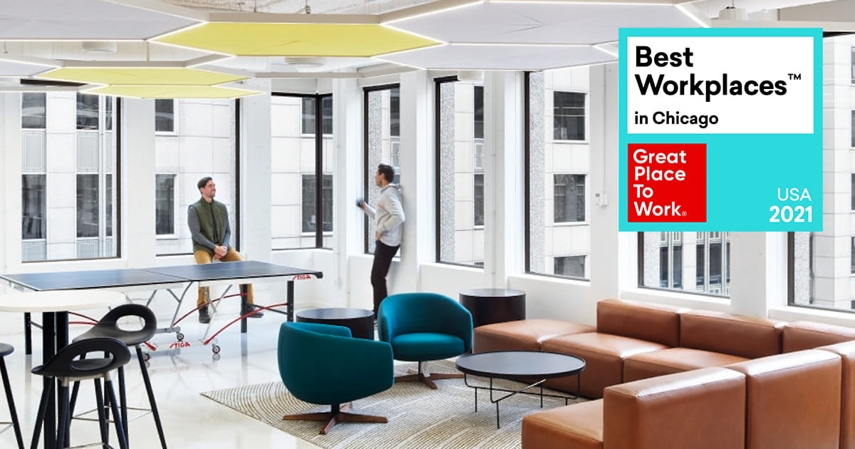best workplaces in chicago award