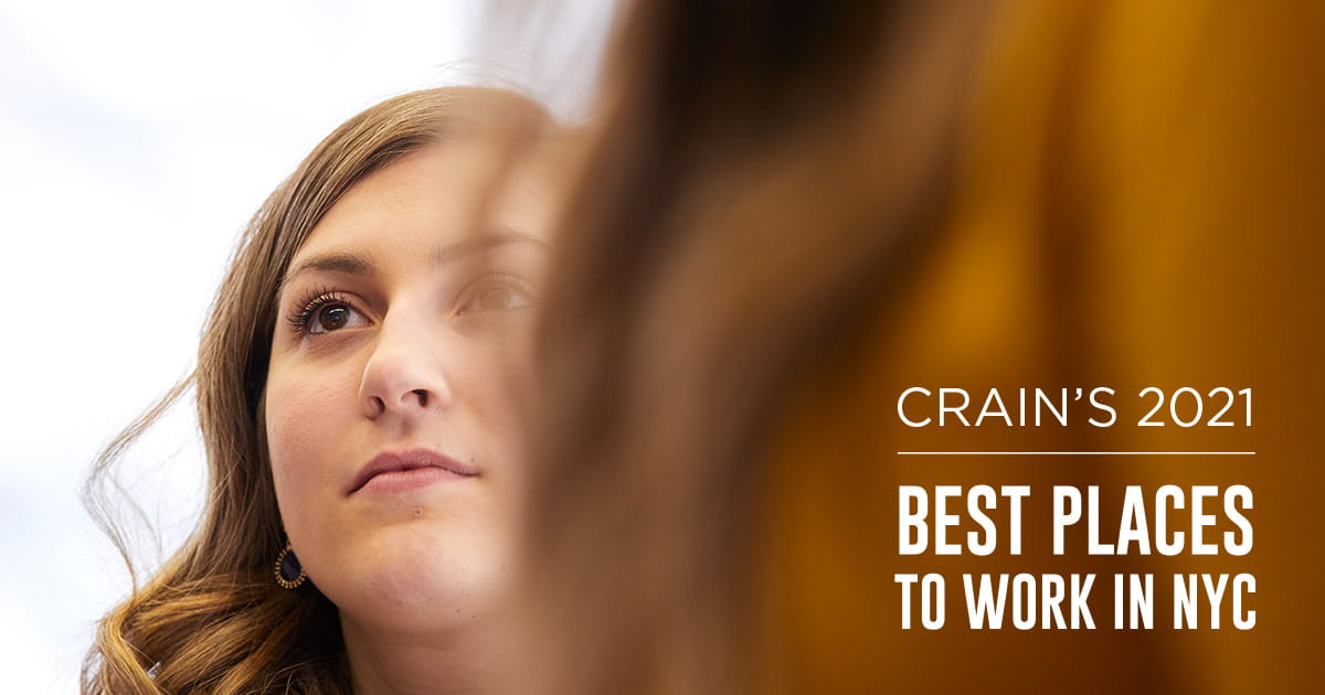 West Monroe, a national business and technology consulting firm, has once again been recognized as one of the 100 Best Places to Work in New York City by Crain's.