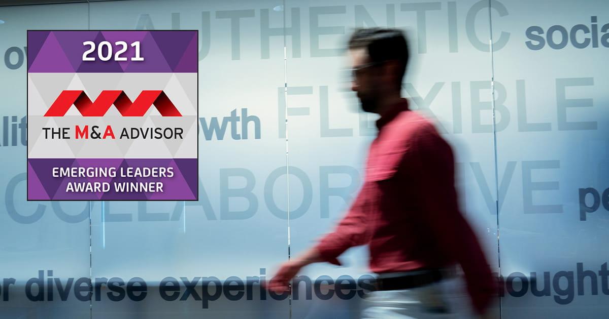 The M&A Advisor Emerging Leaders Award