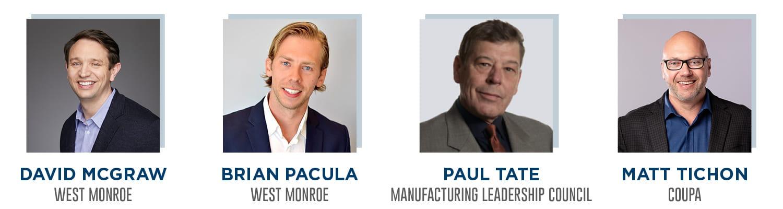 evolving a digital supply chain panelists